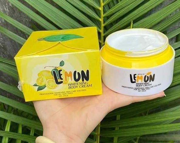 Kem body Lemon - Whitening body cream