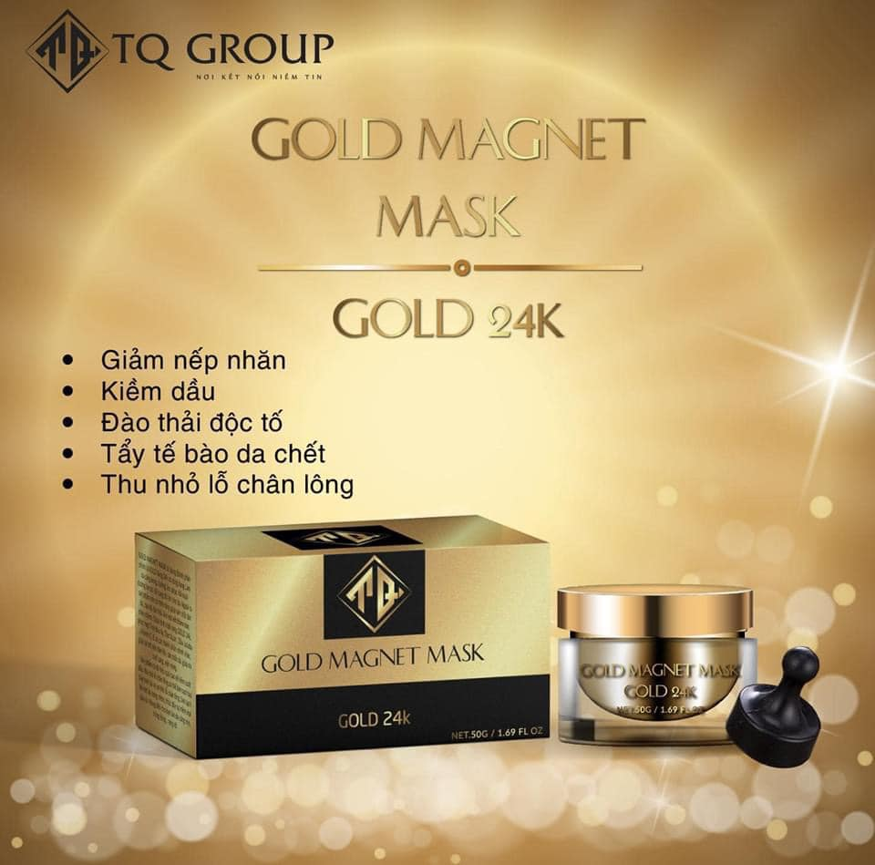 Mặt nạ Gold Magnet mask